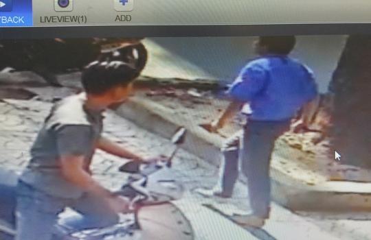 Hình ảnh tài xế trích xuất từ camera nhà người dân trên đường Ba Tháng Hai