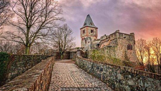 Lâu đài Frankenstein - Đức. Ảnh: Alamy Stock Photo
