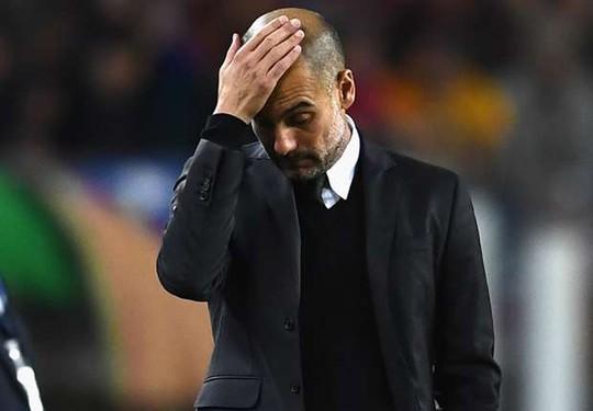 Pep Guardiola thất vọng trong ngày về Nou Camp