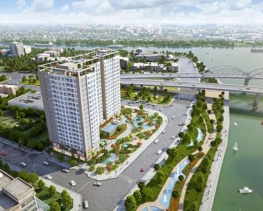 Phối cảnh dự án Riva Park