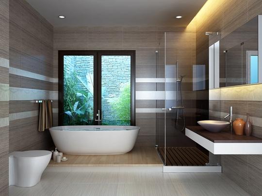Phòng tắm luôn ảnh hưởng xấu đến phong thủy?