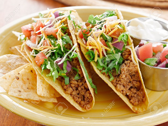 Bánh taco của Mexico. Ảnh: Internet