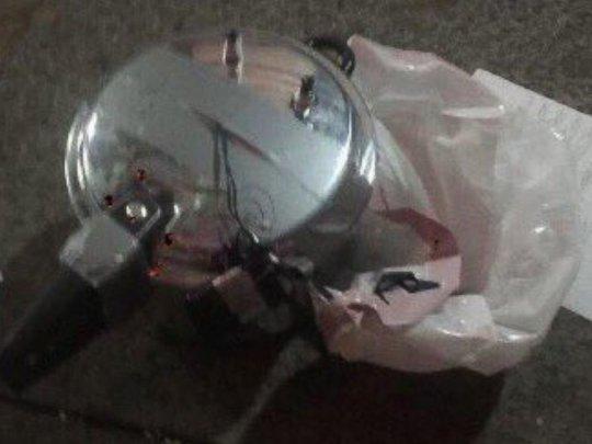 Thiết bị nổ thứ hai được phát hiện ở đường 27 khu Manhattan, New York. Ảnh: AP