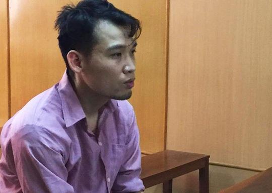 Bị cáo Nguyễn Duy Tân tại phiên tòa.