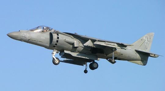Chiến đấu cơ Mỹ AV8B Harrier II. Ảnh: Wikipedia