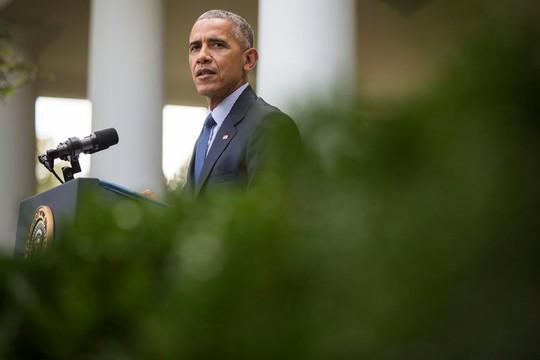 Chính quyền Tổng thống Obama hôm 7-10 công khai cáo buộc chính phủ Nga tấn công mạng cuộc bầu cử Mỹ. Ảnh: New York Times