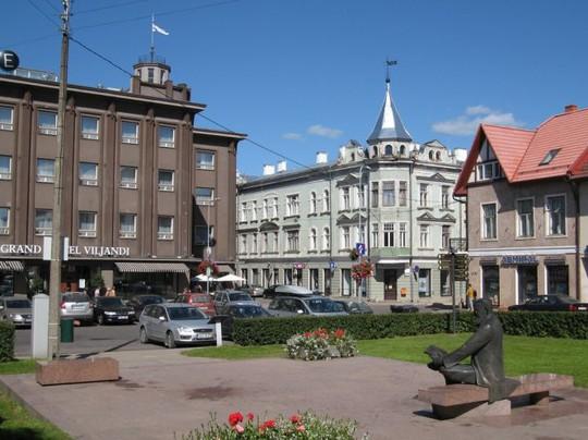 Một góc Viljandi - Ảnh: panoramio