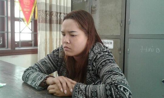 Đối tượng Nguyễn Hà Giang Sang tại cơ quan điều tra