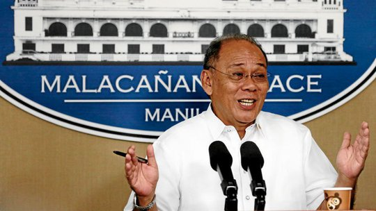 Người phát ngôn tổng thống Ernesto Abella. Ảnh: INQUIRER