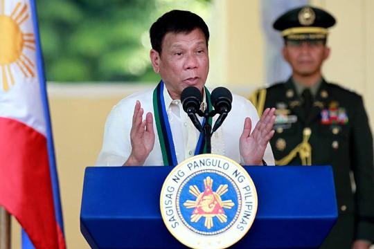 Tổng thống Rodrigo Duterte. Ảnh: AP