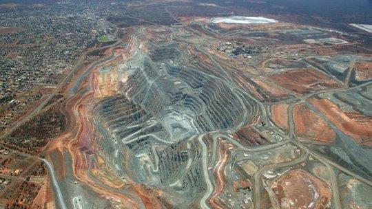 Mỏ vàng Super Pit. Ảnh: The Australian