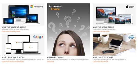 Nhiều lựa chọn mua đồ công nghệ trên các website bán lẻ như Amazon, Bestbuy, Ebay cho Black Friday.