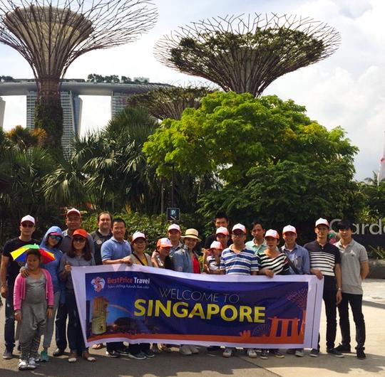 Du lịch Singapore là lựa chọn của nhiều du khách du lịch mùa Tết 2017.