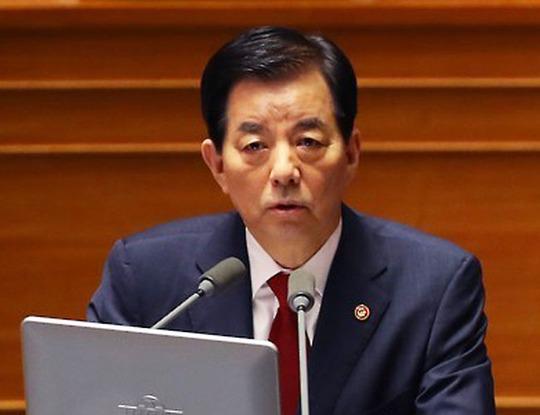 Bộ trưởng Quốc phòng Hàn Quốc Han Min-koo Ảnh: YONHAP