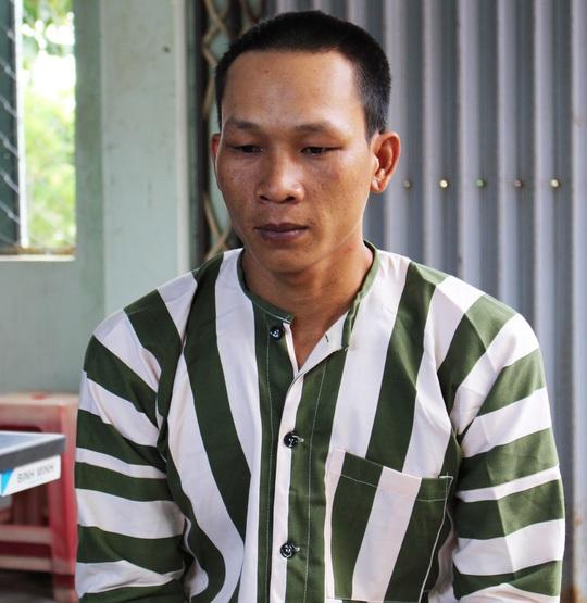 Đối tượng cầm đầu Huỳnh Tấn Tây tại cơ quan điều tra