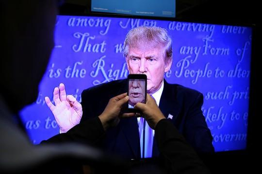 Ông Trump cho rằng mình bị đối xử bất công trong cuộc tranh luận đầu tiên. Ảnh: Reuters