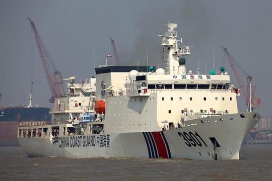 Hành động của tàu hải cảnh Trung Quốc tại biển Đông đang gây nhiều lo ngại. Ảnh: SHEPHARD MEDIA
