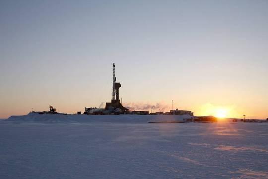 Hoạt động khai thác dầu khí của công ty Caelus ngoài khơi Alaska. Ảnh: CAELUS ENERGY