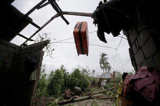 Quang cảnh bị tàn phá ở Haiti Ảnh: REUTERS
