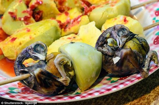 Những món ăn độc, lạ trên thế giới