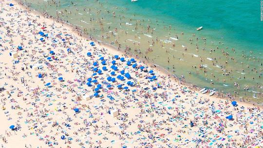 15 bãi biển tuyệt đẹp nhìn từ trên cao