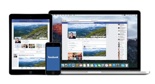 Facebook cung cấp quảng cáo của họ trên nhiều loại thiết bị thông minh