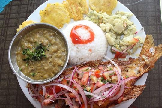 Ấn tượng ẩm thực Ecuador