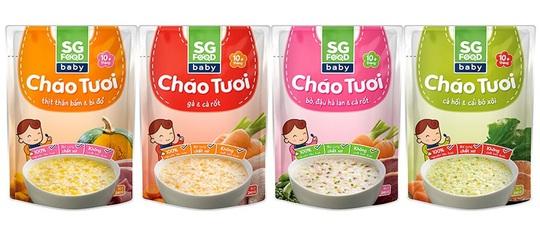 Bữa ăn tốt nhất cho trẻ là từ các món ăn mẹ nấu. Cháo tươi baby Saigon Food sản phẩm được chế biến theo đúng cách mà các bà mẹ nấu cho con ăn tại nhà: