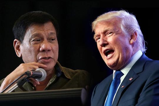 Tổng thống Philippines Duterte nói đã được ông Trump mời đến Nhà Trắng vào năm sau. Ảnh: PHILSTAR