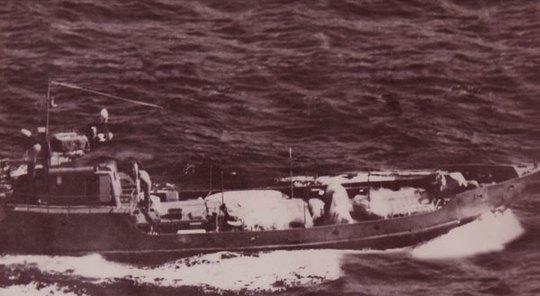 Tàu không số (ảnh tư liệu)
