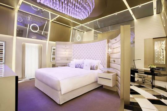 Bên trong căn phòng khách sạn tốt nhất thế giới 2016 có gì lạ?