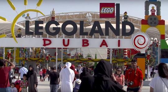 Siêu công viên giải trí lớn nhất thế giới ở Dubai