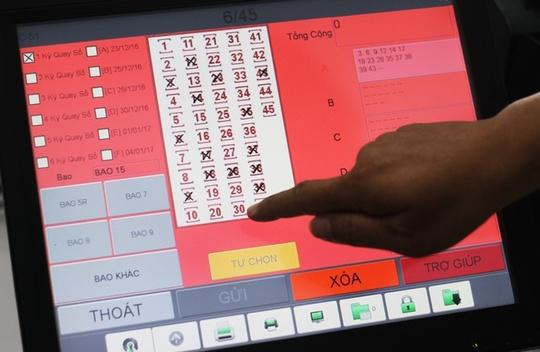 Hiếm hoi có một khách lựa chọn bao 14 với giá trị dự thưởng hơn 30 triệu đồng.