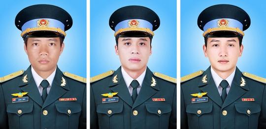 Đại úy Dương Lê Minh Trung úy Đặng Đình Duy Trung úy Nguyễn Văn Tùng