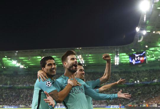 Trong khi đó, dù thiếu Messi nhưng Barcelona vẫn ngược dòng giành chiến thắng để vươn lên đầu bảng C