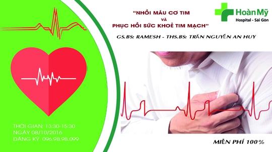 Kiểm tra sức khoẻ tim mạch hoàn toàn miễn phí
