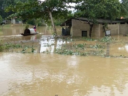 Ngập lụt ở Phong Mỹ