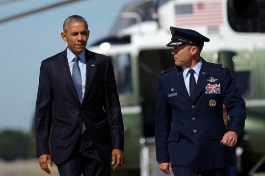 Tổng thống Obama đang cân nhắc các biện pháp trả đũa Nga một cách tương xứng. Ảnh: REUTERS