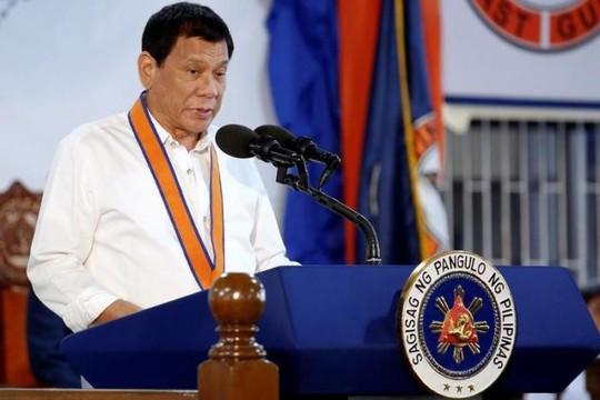 Tổng thống Duterte hôm 12-10 tuyên bố không tập trận chung với Mỹ vào năm tới. Ảnh: Reuters