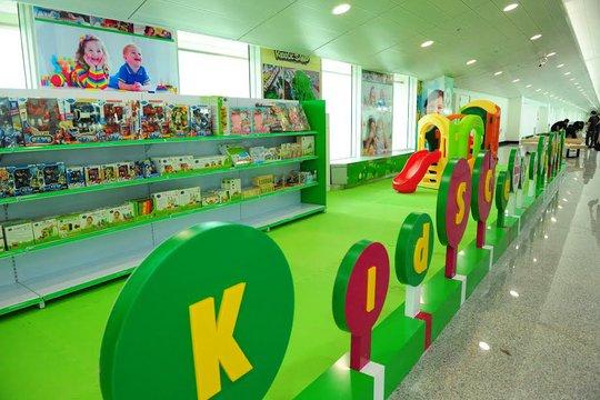 Khu vui chơi trẻ em miễn phí bên trong ga quốc tế