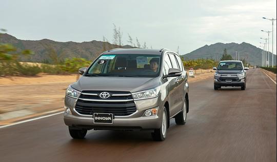 Toyota Innova có doanh số bán ra 5.890 xe tại miền Nam
