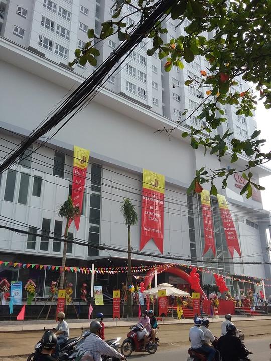 Khánh thành dự án Saigonres Plaza sớm hơn dự kiến.