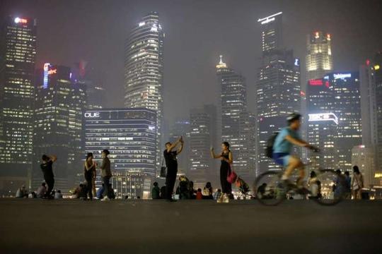 Singapore thuộc nhóm đứng đầu thế giới về các tiêu chuẩn sống và sức khỏe Ảnh: REUTERS