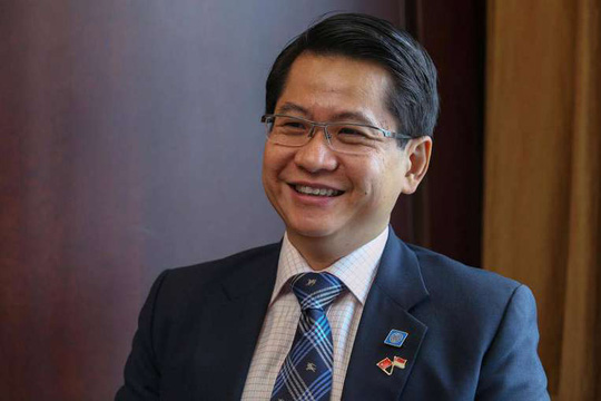 Đại sứ Singapore tại Trung Quốc Stanley Loh. Ảnh: MINISTRY OF FOREIGN AFFAIRS