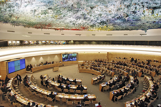 Nga bất ngờ bị loại khỏi Hội đồng Nhân quyền Liên Hiệp Quốc. Ảnh: News24