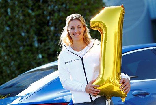 Kerber đang dẫn đầu bảng xếp hạng WTA