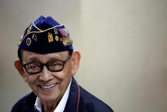 Cựu Tổng thống Philippines Fidel Ramos. Ảnh: Reuters