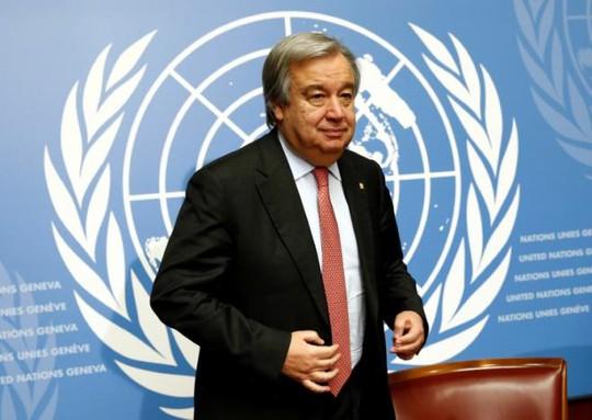 Ông Antonio Guterres sẽ thay thế Tổng thư ký LHQ Ban Ki-moon vào ngày 1-1-2017. Ảnh: Reuters