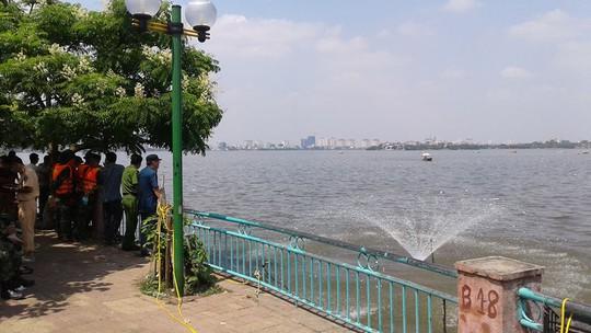 Tạo ôxy cho nước hồ
