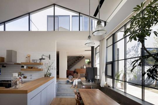 Phong cách hiện đại, gần gũi thiên nhiên của ngôi nhà ở Nhật Bản